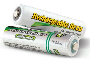 Rechargeables batteries